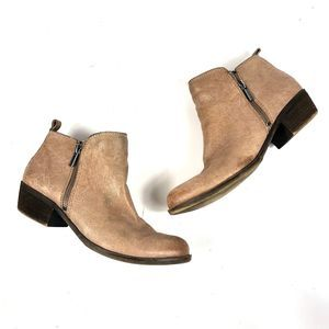 Lucky Brand LK-Basel Leather Ankle Boots 8.5